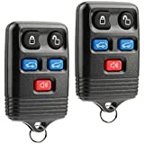 Car Key Fob Keyless Entry Remote fits 2003-2010 Ford Expedition / 2008-2010 Lincoln Navigator (CWTWB1U551), Set of 2