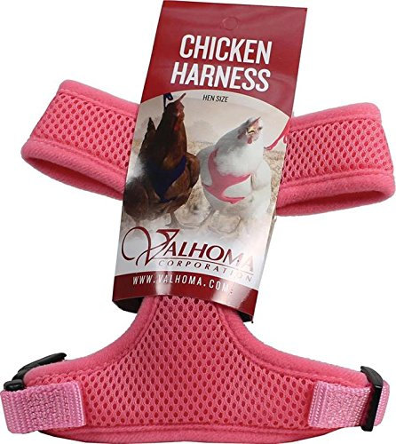 Valhoma 756 S C HP 625482 Mesh Chicken Harness, Hot Pink, Hen by Valhoma