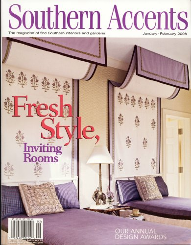 Southern Accents, February 2008 Issue