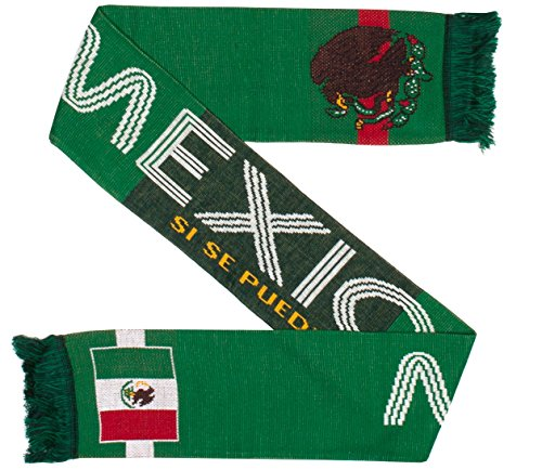 Mexico Scarf - Mexico Soccer Knit Scarf