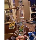 GahucYsan Glass Beer Bong 34 cm Tall 14.4 mm Joint
