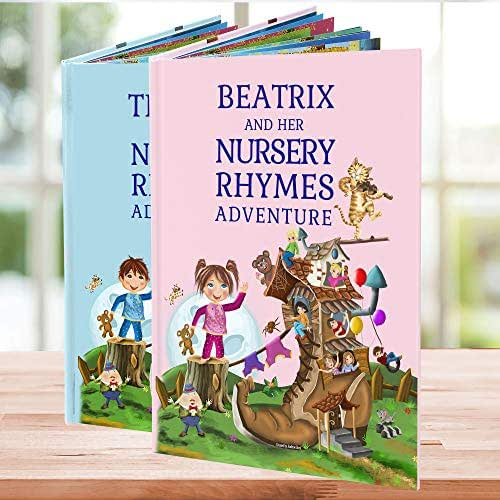 Amazon.com: Personalized Nursery Rhymes and Poems Children ...