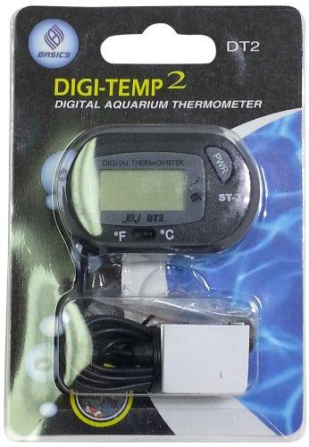 JBJ Digital Temperature External Thermometer with Probe for Aquarium by JBJ