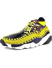 Nike Men's Air Footscape Wvn Chk Yoth Qs Ankle-High Fashion Sneaker