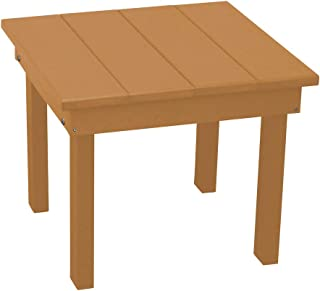 product image for Outdoor Hampton End Table - Cedar Poly Lumber - Recycled Plastic