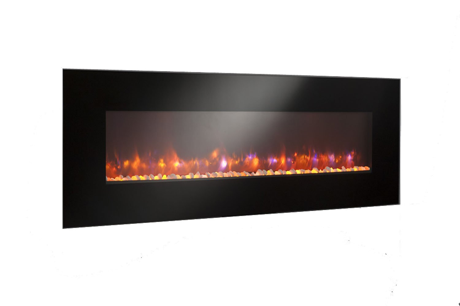 amazon com greatco gallery series built in electric fireplace 70