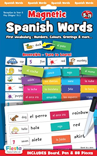 Magnetic Poetry Spanish - Spanish Words Magnetic Game