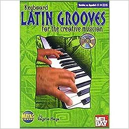 Mayas Music Latin Grooves - Teclado/Keyboard (Book/CD) Sheet music