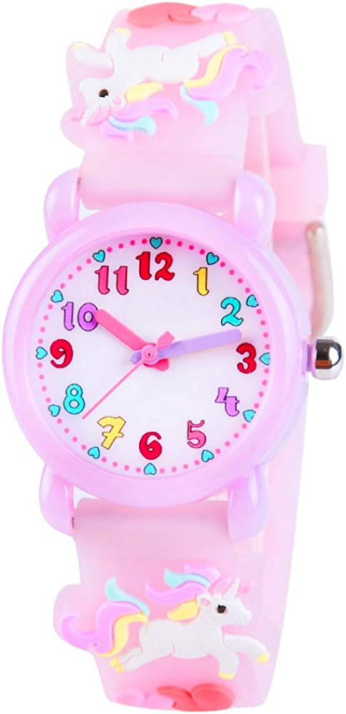 Amazon.com: VIVIKEN - Reloj de pulsera para niños con diseño ...