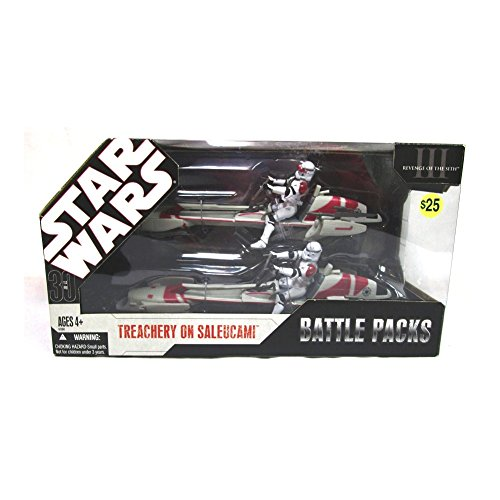 (Star Wars: 30th Anniversary Collection Battle Packs: Treachery On Saleucami Action Figure Multi-Pack)