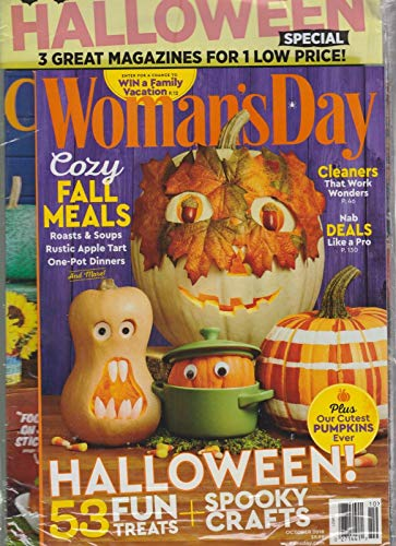 Good Housekeeping Womans Magazine - WOMAN'S DAY, GOOD HOUSEKEEPING & COUNTRY LIVING OCT 2018,3 MAGAZINES FOR 1 PRICE