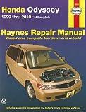 Honda Odyssey 1999 Thru 2010, Max Haynes, 1563929236