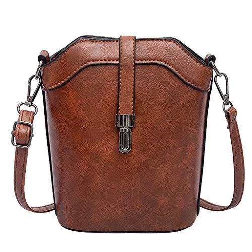 Rakkiss Women Shoulder Bag Messenger Satchel Tote Crossbody Bag Phone Bag Bucket Bag (Prada-outlet-online-shop)
