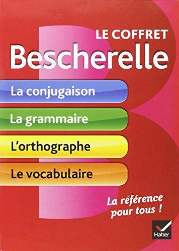 Le Coffret Bescherelle Conjugaison Grammaire Orthographe