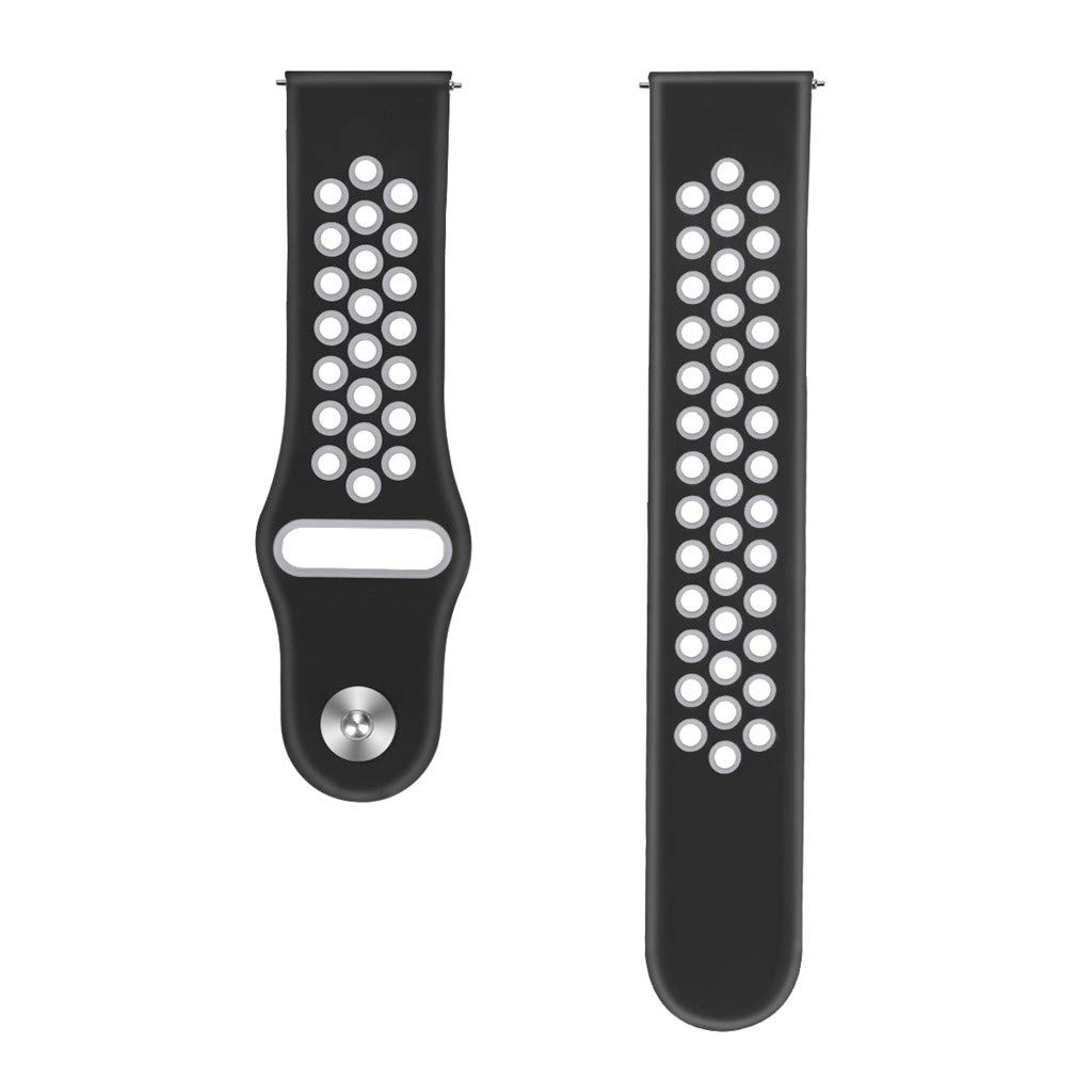 Choosebuy for Samsung Galaxy Watch Active Small Silicone Replacement Band Wrist Strap (Gray) by Choosebuy (Image #4)