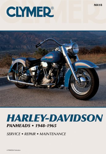 Harley-Davidson Panheads 1948-1965: Service, Repair, Maintenance (Harley Davidson Accessories Book)