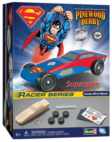 REVELL Superman Sports Car Racer Series Kit RMXY9404