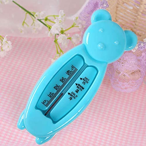 1pc del ba/ño del beb/é term/ómetro de Las Aguas de ba/ño medir la Temperatura Juguete Flotante Utilizado en ba/ñera Y Piscina Oso Azul