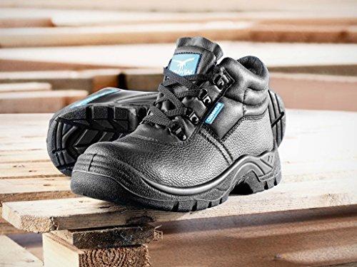 Glenwear Morton Safety Chukka Boot nero, misura: 10