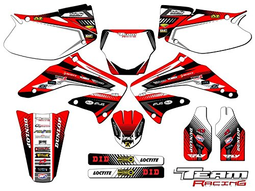 Team Racing Graphics kit compatible with Honda 2002-2004 CRF 450R, ANALOG