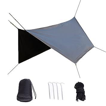 Bauhaus life Gazebo de Protección Solar, Protección UV de la Cubierta Protectora, Paño Impermeable