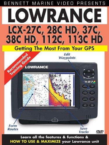 Lowrance LCX-27C, 28C HD, 37C, 38C HD, 112C,