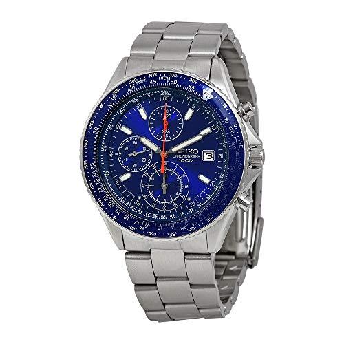 Chronograph Seiko Tachymeter Watch - Seiko Men's SND255 Tachymeter Watch