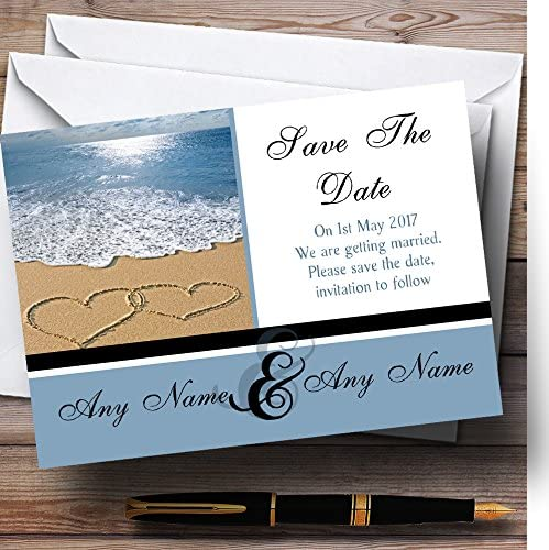 Love Heart Sand Beach Sea Safety and Fresno Mall trust Personalized Date Save Wedding The Car