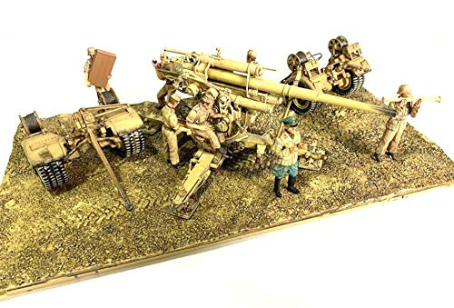 Forces of Valor 1:32 German 88mm Flak 36/37 Anti-Aircraft Gun with Trailer - DAK, El Alamein, North Africa, 1942 (Forces Of Valor Toys)