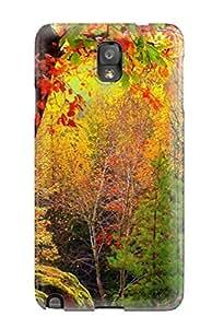 Tough Galaxy UEGDxYM19894Ukvej Case Cover/ Case For Galaxy Note 3(autumn)