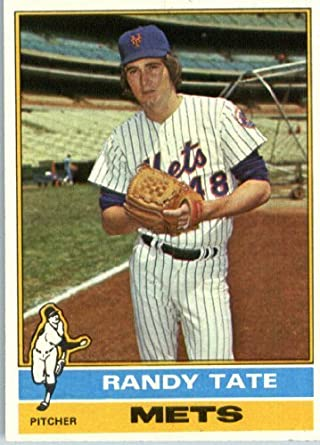 Randy Tate (baseball) Amazoncom 1976 Topps 549 Randy Tate New York Mets Baseball Card