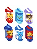 Daniel Tigers Toddler Boy Socks 6 Pair Low Cut Boys Socks Fits 2T-4T
