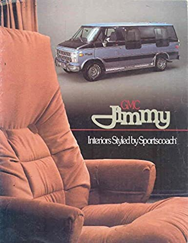 1982 gmc jimmy brochure