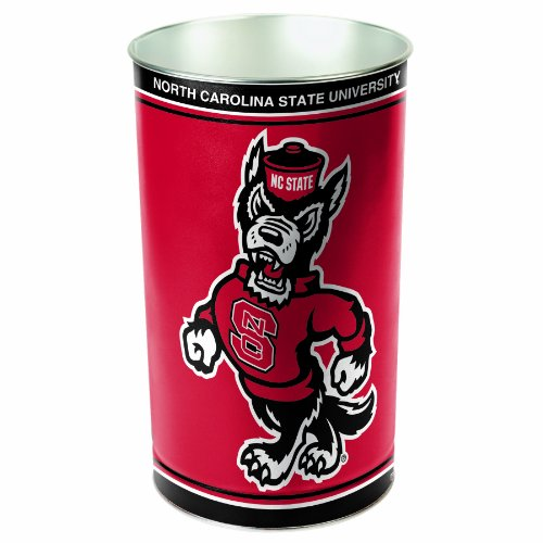 (NCAA North Carolina State Wolfpack Wastebasket)