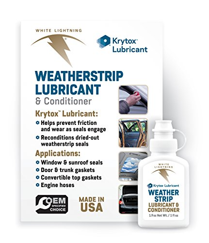White Lightning - Chemours WS0856602 Krytox Weatherstrip Lubricant-(Ford Part#WS0850102)