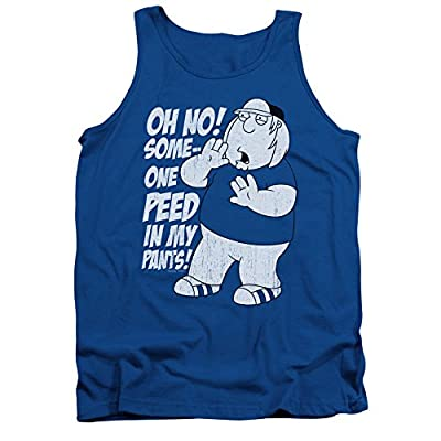 Family Guy Adult Animated Comedy TV Someone Peed in My Pants Adult Tank Shirt