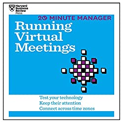 20 Minute Manager: Running Virtual Meetings