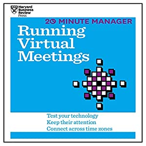 20 Minute Manager: Running Virtual Meetings Audiobook