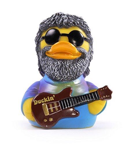 (CelebriDucks Duckin' Tie Dye Jam Musician Rubber Duck Costume Quacker Bath Toy)