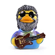 CelebriDucks Duckin' Tie Dye Jam Musician Rubber Duck Costume Quacker Bath Toy