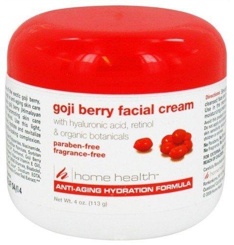Home Health Goji Berry Fragrance-Free Facial Cream, 4 Ounce by Home Health BEAUTY from HOME HEALTH