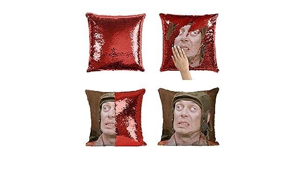 Steve Buscemi Funny Creepy Face_MA0338 Pillow Cover Sequin ...