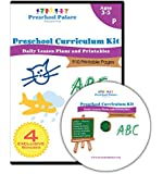 The Ultimate Preschool Curriculum Kit - Printable Workbooks, Lesson Plans and Learning Activities for Preschoolers, Pre K Kids and Toddlers (Ages 3 - 5)