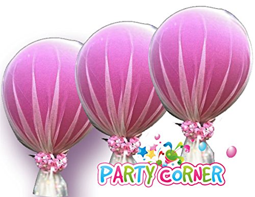 Party Tulle Balloons Kit (12 pcs) for Baby