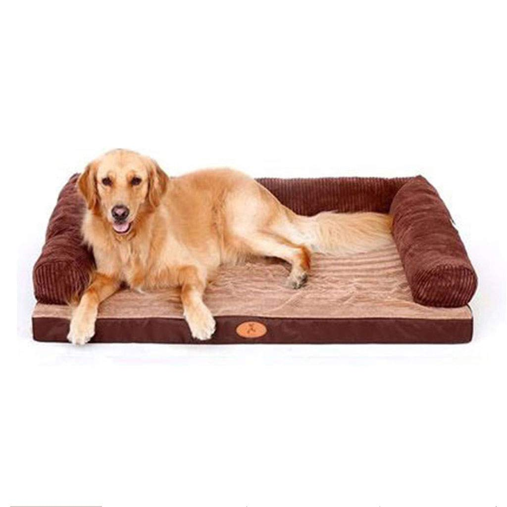 C 80×60cmBianMei Beauty Depends On The Pet Bed, Removable And Washable Dog Cat Litter Oxford Cloth Home Large Dog Mat Home Nonslip Pet Supplies (color   C, Size   80×60cm)