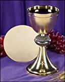Budded Cross Chalice and Paten Set by Faithful Gifts