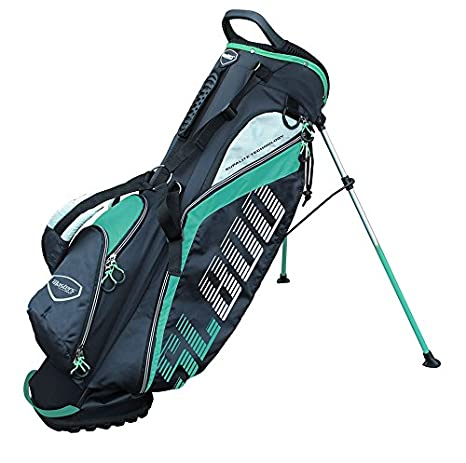 Masters Golf - SL800 Supalite Standbag Black/Teal: Amazon.es ...