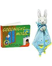 Goodnight Moon Bunny Blankie & Beloved Board Book, Baby Gift Set