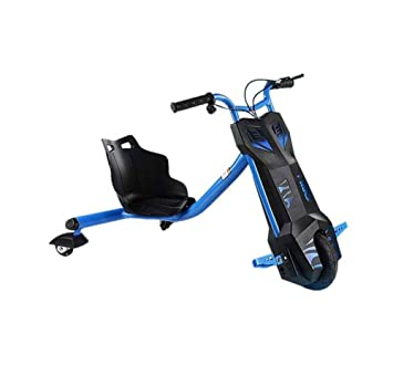 o Triciclo eléctrico para Derrapes con giros hasta 360 grados - Patín ebike Scooter Drift para niños con 3 ruedas con Bluetooth (azul): Amazon.es: Deportes ...