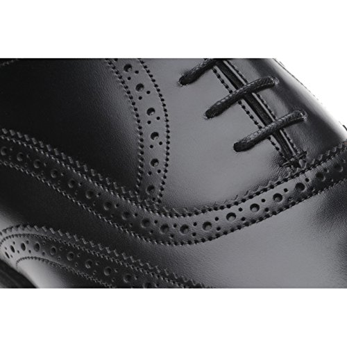 5 Vitello Gladstone Brogue Aringa Herring Calf II EU 40 in Nero Marrone Black xqSXxPwnR